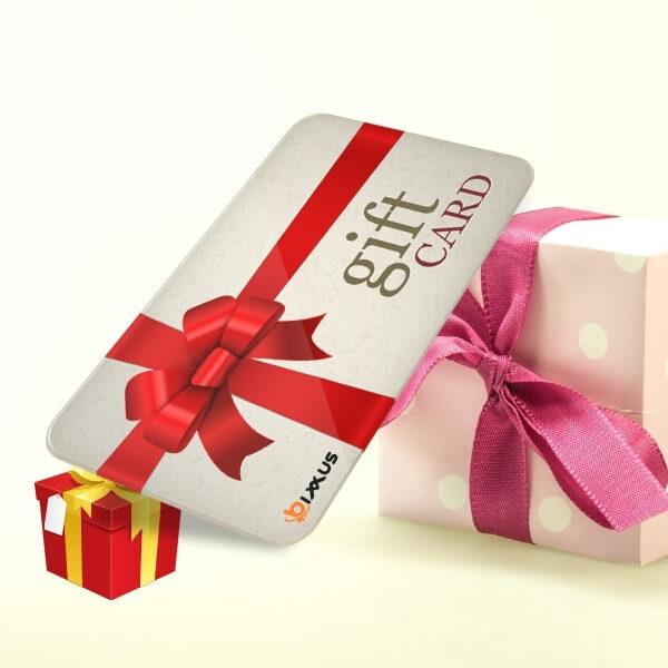 tarjeta regalo Bixxus